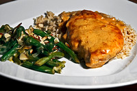 Dijon Chicken and Green Bean Casserole